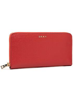 DKNY DKNY Veliki ženski novčanik Bryant-New Zip Around R8313658 Tamnocrvena