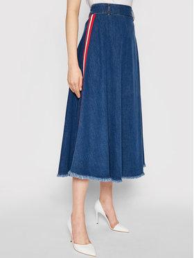 Liu Jo Liu Jo Jeans suknja UA1167 D4435 Plava Regular Fit