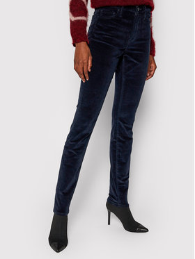 TOMMY HILFIGER TOMMY HILFIGER Pantaloni di tessuto WW0WW30044 Blu scuro Skinny Fit