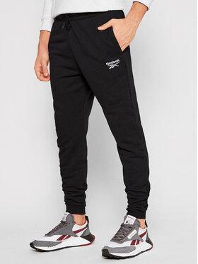 Reebok Reebok Spodnie dresowe Identity GJ0554 Czarny Regular Fit