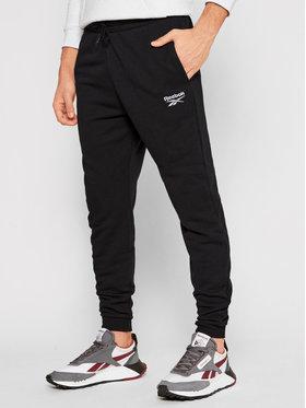 Reebok Reebok Teplákové nohavice Identity GJ0554 Čierna Regular Fit