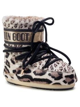 Moon Boot Moon Boot Μπότες Χιονιού Mars Animal 14401000001 Καφέ
