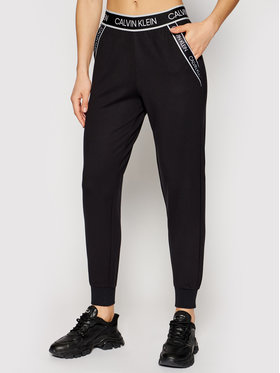 Calvin Klein Performance Calvin Klein Performance Pantaloni da tuta 00GWS1P602 Nero Regular Fit