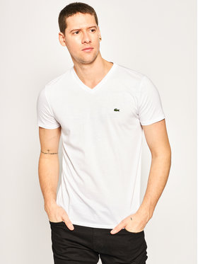 Lacoste Lacoste T-shirt TH6710 Bianco Regular Fit