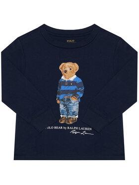 Polo Ralph Lauren Polo Ralph Lauren Μπλουζάκι Ls Cn 323805681002 Σκούρο μπλε Regular Fit