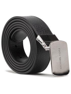 MICHAEL Michael Kors MICHAEL Michael Kors Мъжки колан 34mm Ctfr plaqu Belt 39S0LBLY1L Черен