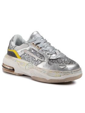 Premiata Premiata Sneakersy Draked 0020D Srebrny