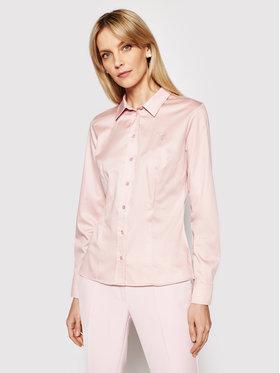 Guess Guess Πουκάμισο Cate W1RH41 WAF10 Ροζ Slim Fit