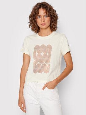 Asics Asics T-shirt Nagare 2032C169 Giallo Regular Fit