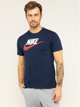 Nike Nike Póló NSW AR4993 Sötétkék Regular Fit