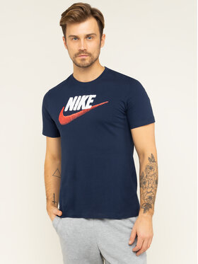 Nike Nike Tricou NSW AR4993 Bleumarin Regular Fit