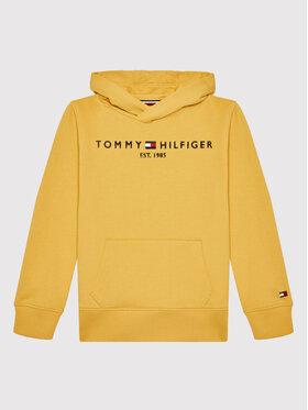 Tommy Hilfiger Tommy Hilfiger Bluza Essential KB0KB05673 Żółty Regular Fit