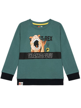 LEGO Wear LEGO Wear Суитшърт 12010050 Зелен Regular Fit