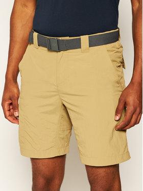 Columbia Columbia Pantaloncini sportivi Silver Ridge II 1794931 Beige Regular Fit