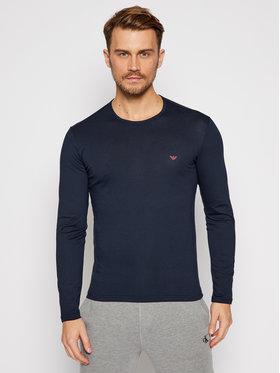Emporio Armani Underwear Emporio Armani Underwear Тениска с дълъг ръкав 111653 0A722 135 Тъмносин Regular Fit