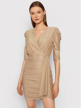 Rinascimento Rinascimento Коктейльна сукня CFC0105082003 Рожевий Slim Fit