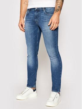 Guess Guess Jeans Miami M1YAN1 D4GV5 Blau Skinny Fit