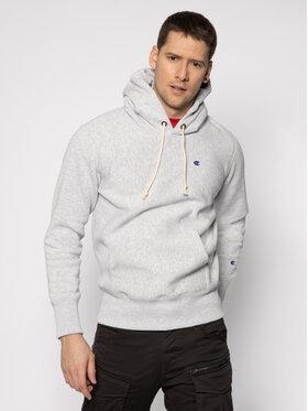 Champion Champion Sweatshirt Hooded 214675 Grau Custom Fit
