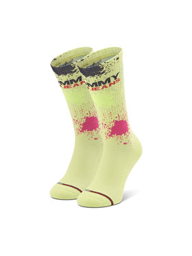 Tommy Jeans Tommy Jeans Hohe Unisex-Socken 100002820 Gelb