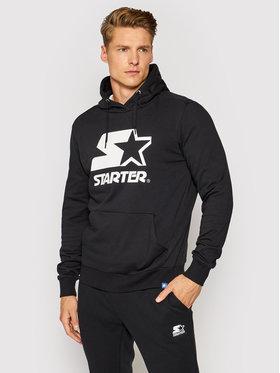 Starter Starter Bluză SMG-001-BD Negru Regular Fit