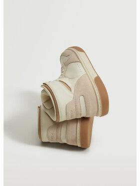 Mango Mango Sneakersy Basket 17084381 Biały