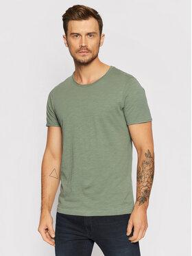 Selected Homme Selected Homme T-Shirt Morgan 16071775 Zelená Regular Fit