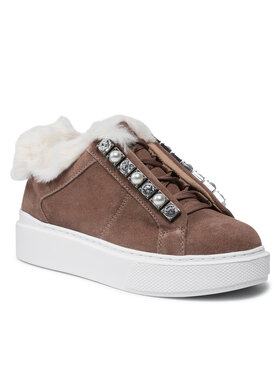 Guess Guess Sneakersy FL8HY4 SUE12 Hnědá