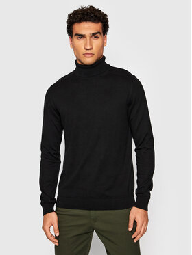 Selected Homme Selected Homme Golf Berg 16074684 Czarny Regular Fit