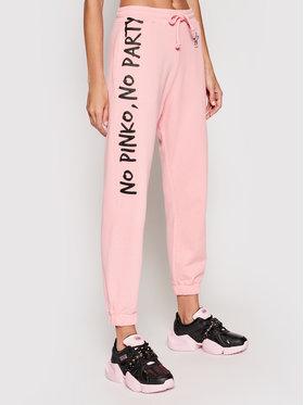 Pinko Pinko Παντελόνι φόρμας Enologia PE 21 PRR 1N1342 Y7ED Ροζ Regular Fit