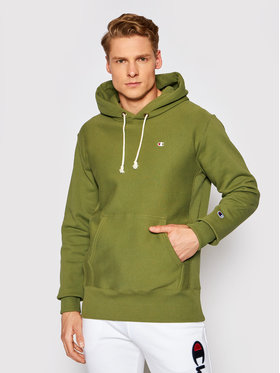 Champion Champion Sweatshirt Reverse Weave 214675 Grün Custom Fit