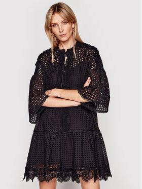 Pinko Pinko Лятна рокля Sosia 20211 PSPG 1N132P 8508 Черен Regular Fit
