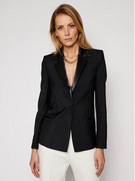 Victoria Victoria Beckham Victoria Victoria Beckham Żakiet Tailoring 2121WJK002186A Czarny Slim Fit