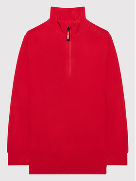 CMP CMP Fliso džemperis 3G28134 Raudona Regular Fit