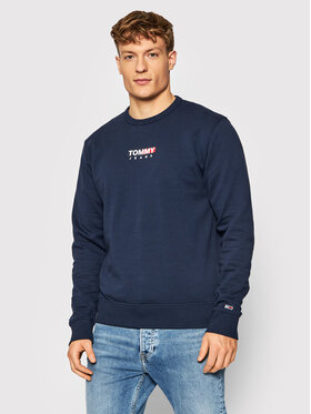 Tommy Jeans Tommy Jeans Pulóver Entry Graphic DM0DM11627 Sötétkék Regular Fit