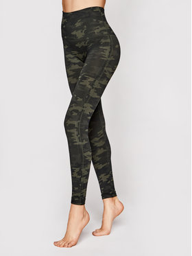 SPANX SPANX Colanți Look At Me Now Seamless FL3515 Verde Slim Fit