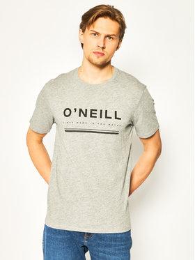 O'Neill Tričko Arrowhead 0A2376 Sivá Regular Fit