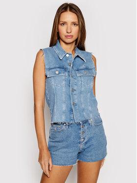 Calvin Klein Jeans Calvin Klein Jeans Prsluk Woven J20J217224 Plava Regular Fit