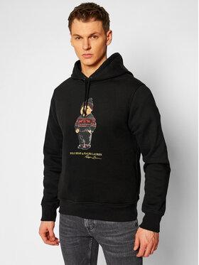 Polo Ralph Lauren Polo Ralph Lauren Bluză Magic Fleece 71082837400 Negru Regular Fit