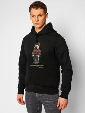 Polo Ralph Lauren Polo Ralph Lauren Pulóver Magic Fleece 71082837400 Fekete Regular Fit