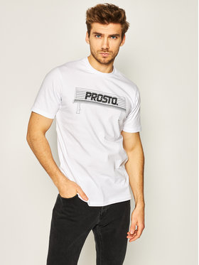 PROSTO. PROSTO. T-shirt KLASYK Bench 8608 Bianco Regular Fit