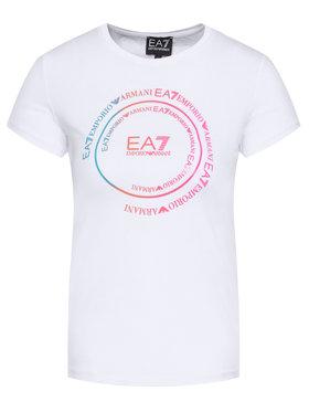 EA7 Emporio Armani EA7 Emporio Armani T-shirt 3HFT59 FJT2Z 1100 Bianco Regular Fit