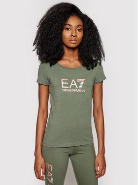 EA7 Emporio Armani EA7 Emporio Armani T-Shirt 8NTT63 TJ12Z 1818 Zelená Slim Fit