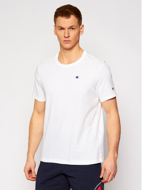 Champion Champion T-shirt Small C Logo 214674 Bijela Custom Fit