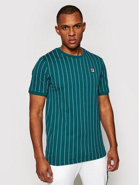 Fila Fila T-shirt Hogan 688788 Zelena Regular Fit