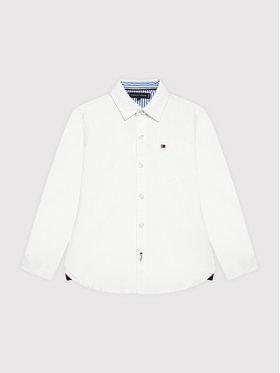 Tommy Hilfiger Tommy Hilfiger Chemise Essential KB0KB06495 Blanc Regular Fit
