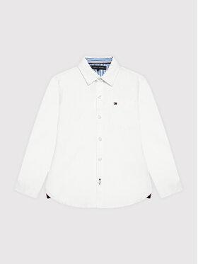 Tommy Hilfiger Tommy Hilfiger Πουκάμισο Essential KB0KB06495 Λευκό Regular Fit
