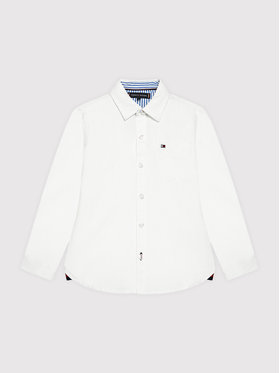 Tommy Hilfiger Tommy Hilfiger Риза Essential KB0KB06495 Бял Regular Fit