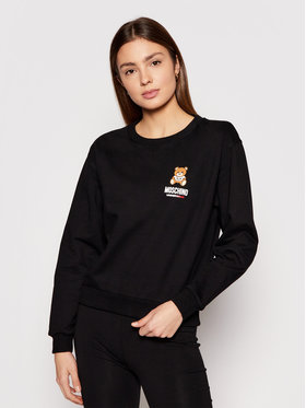 MOSCHINO Underwear & Swim MOSCHINO Underwear & Swim Sweatshirt ZUA1713 9020 Schwarz Regular Fit