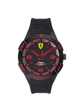 Scuderia Ferrari Scuderia Ferrari Hodinky Apex 0830662 Čierna