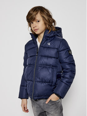 Calvin Klein Jeans Calvin Klein Jeans Пухено яке Essentail IB0IB00557 Тъмносин Regular Fit